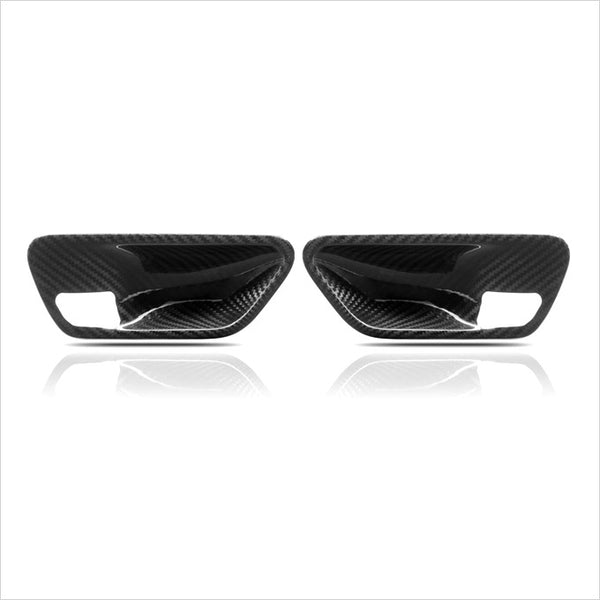 AutoTecknic Dry Carbon Fiber Interior Door Handle Trim BMW F32 4-Series & F82 M4