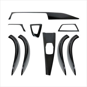 AutoTecknic Dry Carbon Fiber Interior Trim Overlay Kit BMW F30 3-Series