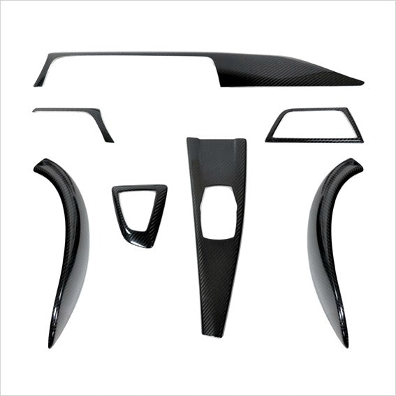 AutoTecknic Dry Carbon Fiber Interior Trim Overlay Kit BMW F32 4-Series