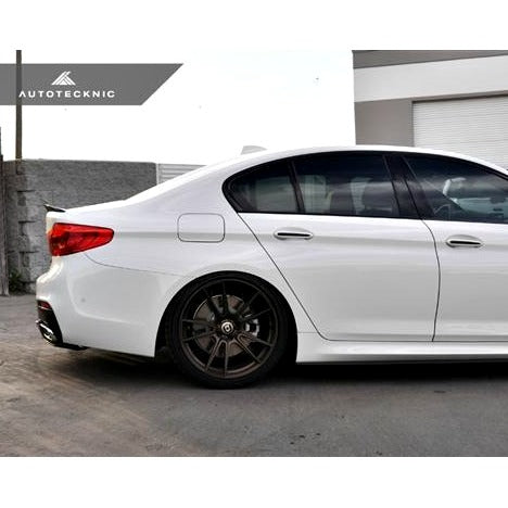AutoTecknic Carbon Fiber Competition Extended-Kick Spoiler BMW G30 5-Series  F90 M5