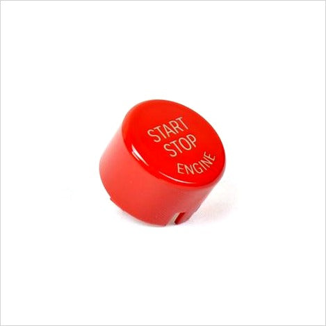 AutoTecknic Bright Red Start Stop Button Toyota Supra A90