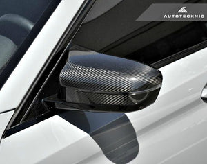 AutoTecknic Dry Carbon Fiber Mirror Covers BMW F90 M5