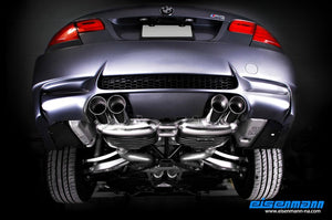 Eisenmann Performance Exhaust BMW E92 E93 M3