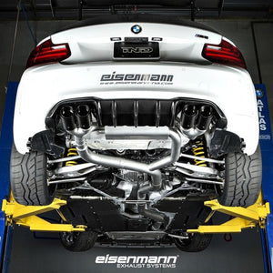 Eisenmann Performance Exhaust with 4x90mm Carbon Fiber Tips BMW F87 M2