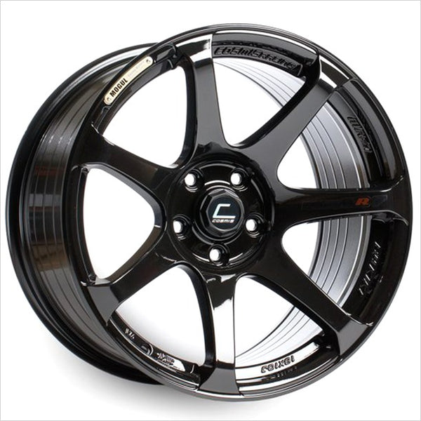 Cosmis MR7 Black Wheel 18x9 5x114.3 +25mm