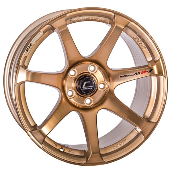 Cosmis MR7 Hyper Bronze Wheel 18x9 5x114.3 +25mm