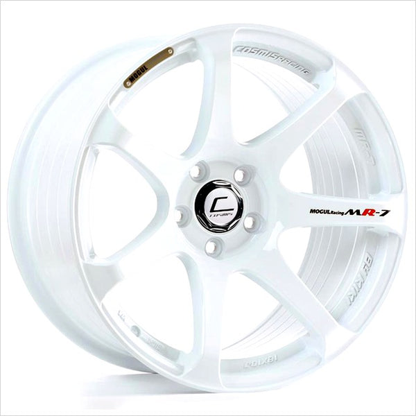 Cosmis MR7 White Wheel 18x9 5x100 +25mm