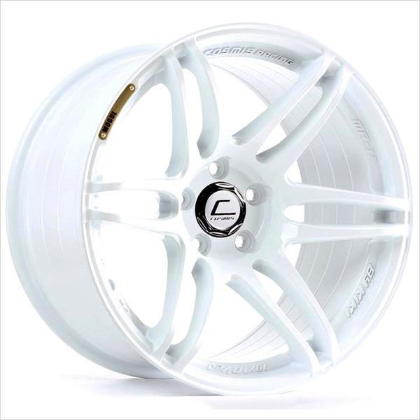 Cosmis MRII White Wheel 18x9.5 5x114.3 +15mm