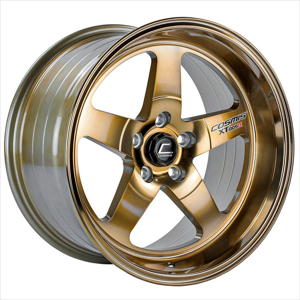 Cosmis XT-005R Hyper Bronze Wheel 18x9 5x114.3 +25mm