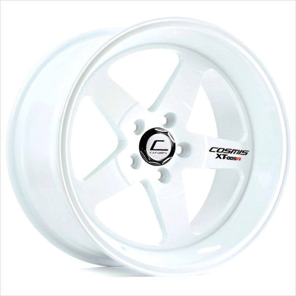 Cosmis XT-005R White Wheel 18x9 5x114.3 +25mm