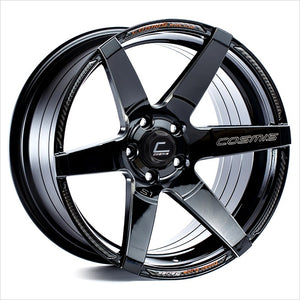 Cosmis S1 Black with Milled Spokes Wheel 18x9.5 5x114.3 +15mm