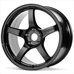 Gram Lights 57CR Gloss Black Wheel 17x9 5x114.3 38mm