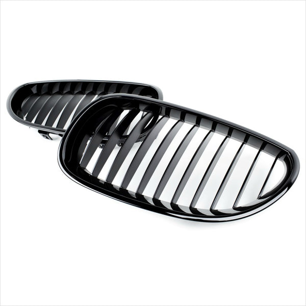 iND Gloss Black Painted Front Grille BMW E60 M5