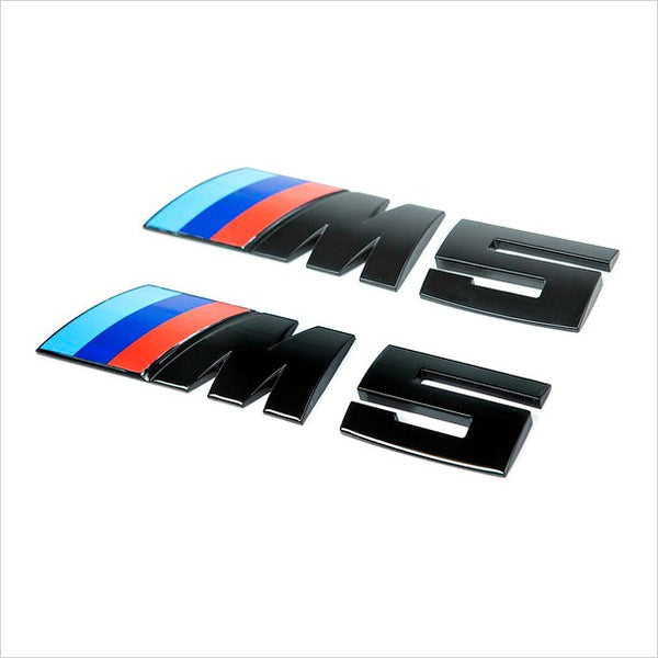 iND M5 Painted Black Trunk Emblem E60 M5