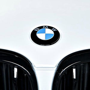 iND Painted Gloss Black Hood Roundel Emblem BMW G01 X3 G02