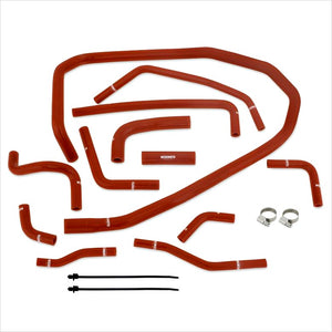 Mishimoto Silicone Radiator Ancillary Hose Kit Red WRX (2015-2019)