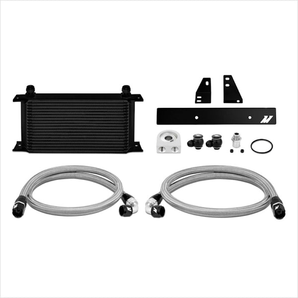 Mishimoto Oil Cooler Kit Black Nissan 370Z / Infiniti G37 Coupe