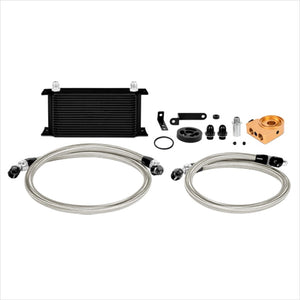 Mishimoto Thermostatic Oil Cooler Kit Black WRX (2008-2014)