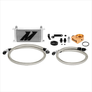 Mishimoto Thermostatic Oil Cooler Kit Silver WRX (2008-2014)