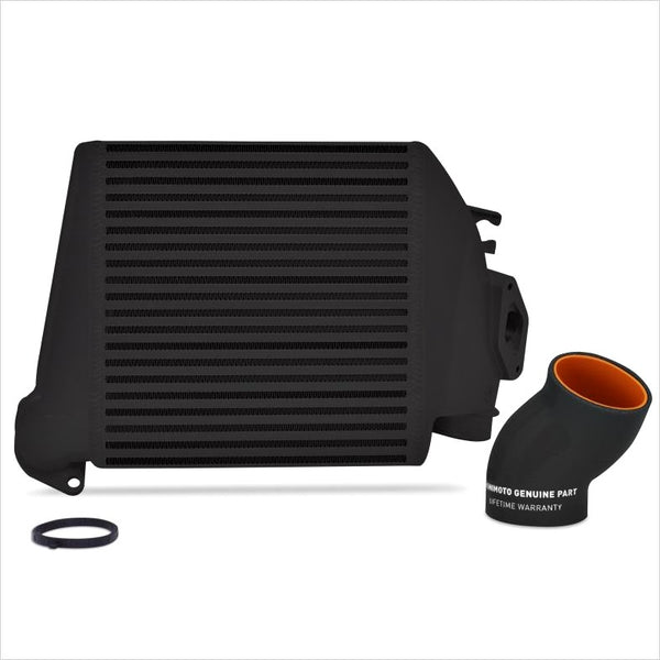 Mishimoto Top Mount Intercooler Black w/Black Hose WRX (2008-2014)