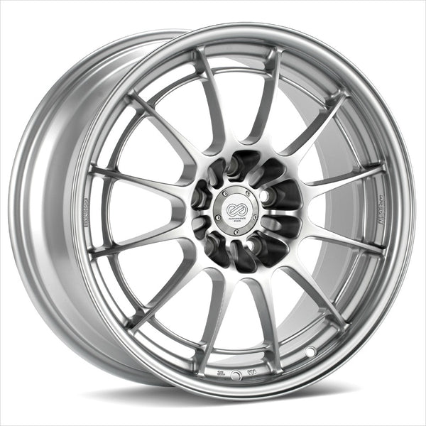 Enkei NT03+M Silver Wheel 18x9.5 5x100 40mm
