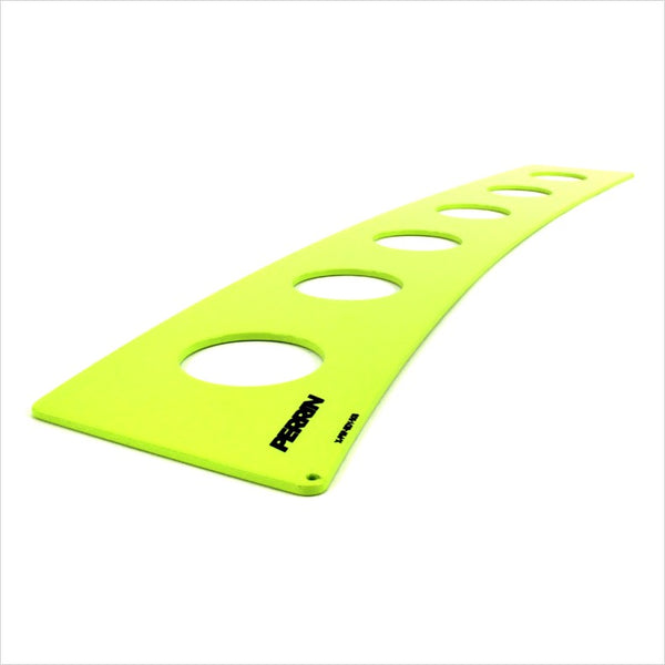 Perrin Rear Window Vents Neon Yellow WRX / STI (2015-2020)