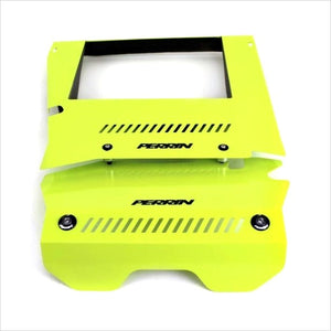 Perrin Engine Cover Kit Neon Yellow WRX (2015-2020)