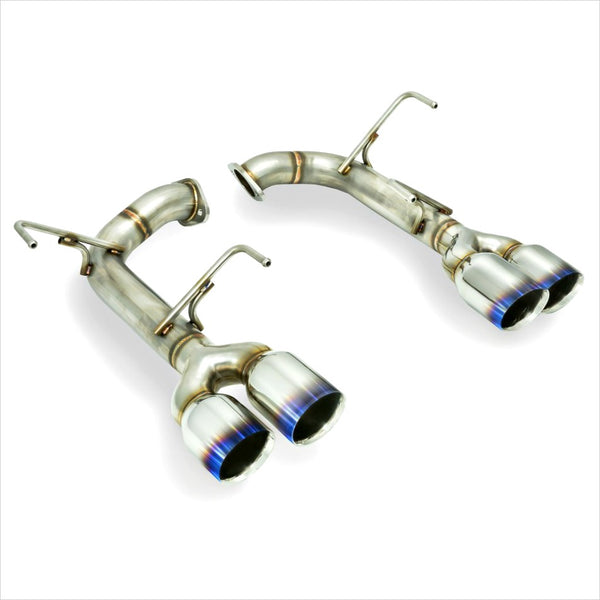 Remark Axleback Exhaust Titanium Stainless Double Wall Tips WRX / STI (2015-2019)
