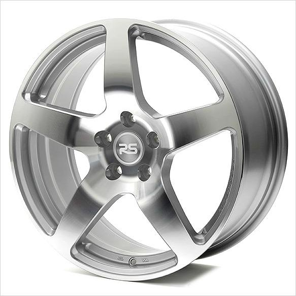Neuspeed NM Eng RSe52 Machined Silver Wheel 18x7.5 5x112 40mm