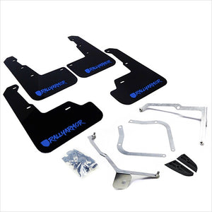 Rally Armor UR Mud Flaps Black with Blue New Logo WRX / STI (2015-2020)