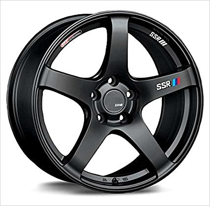 SSR GTV01 Flat Black Wheel 18x9 5x114.3 35mm
