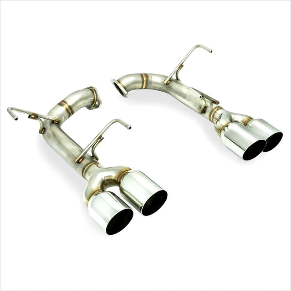 Remark Axleback Exhaust Stainless Steel Single Wall Tips WRX / STI (2015-2019)