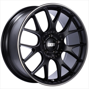 BBS CH-R Satin Black Wheel 19x8.5 5x112 48mm