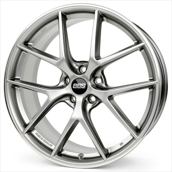 BBS CI-R Platinum Silver Wheel 20x9 5x120 25mm
