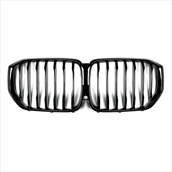 AutoTecknic Gloss Black Front Grilles BMW G05 X5