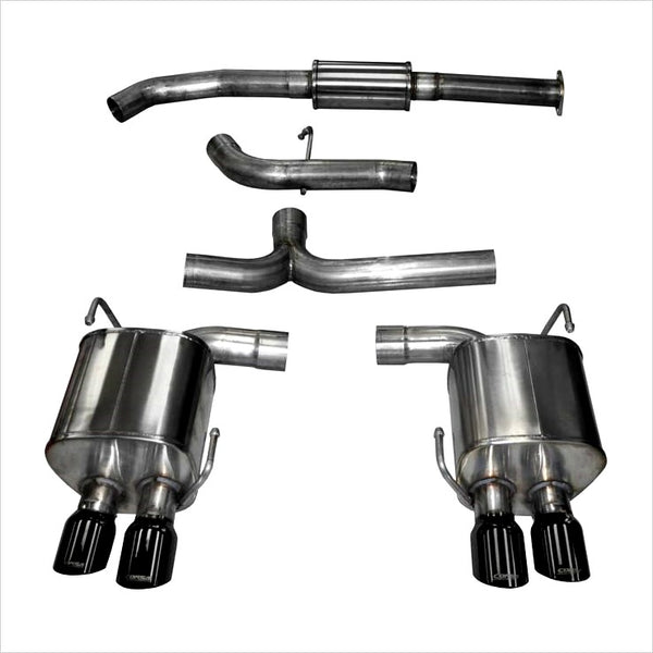 Corsa Catback Exhaust Black Tips WRX / STI (2015-2018)