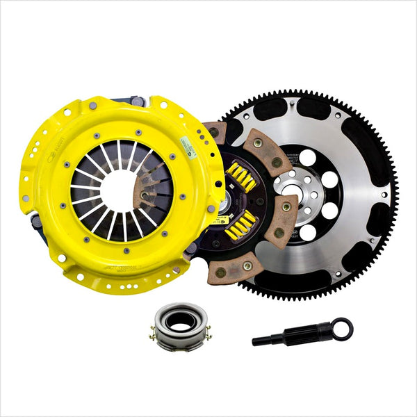 ACT Heavy Duty Sprung 6-Puck Disc Clutch Kit w/ Flywheel BRZ FR-S T86