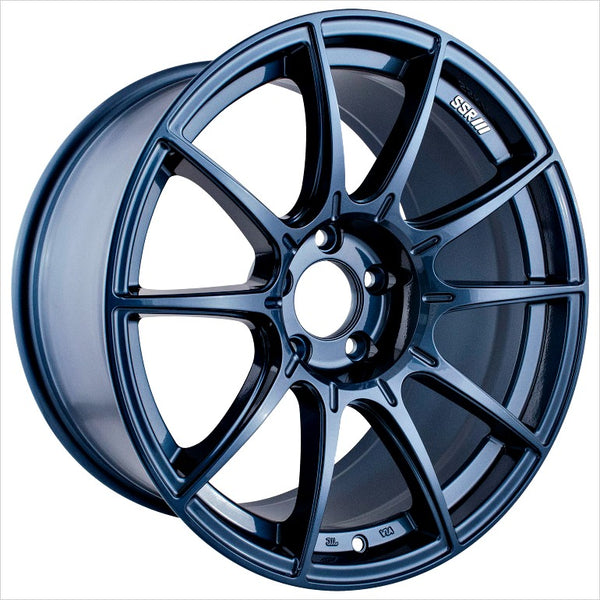 SSR GTX01 Blue Gunmetal Wheel 18x9.5 5x114.3 40mm