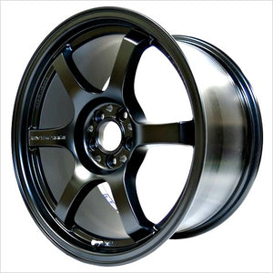 Gram Lights 57DR Semi Gloss Black Wheel 18x9.5 5x114.3 38mm