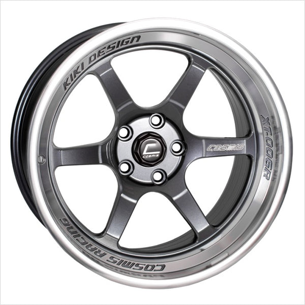 Cosmis XT-006R Gunmetal Wheel 18x9.5 5x114.3 +10mm