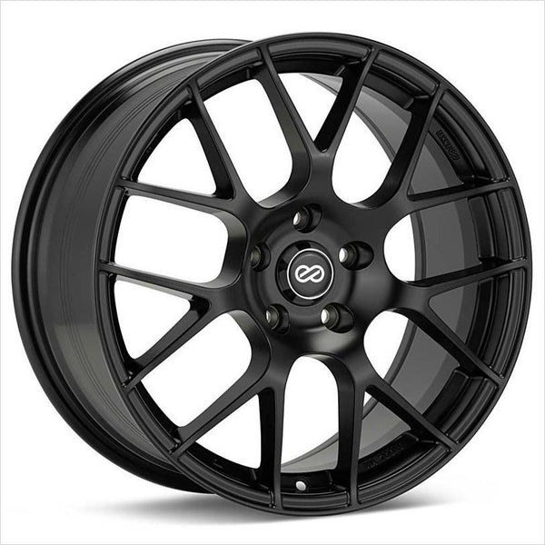 Enkei Raijin Matte Black Wheel 18x8 5x120 32mm