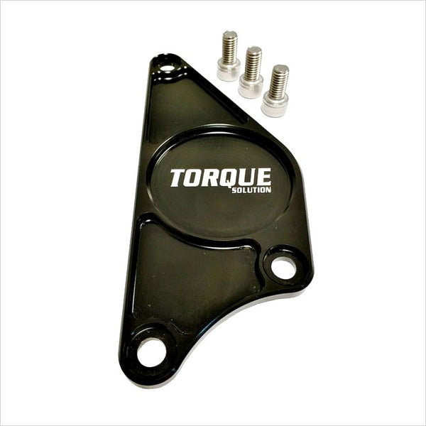 Torque Solution Billet Aluminum Cam Plate Black BRZ FR-S T86