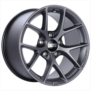BBS SR Satin Grey Wheel 18x8 5x114.3 40mm