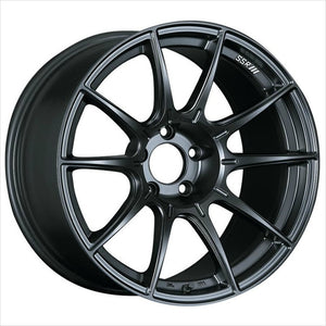 SSR GTX01 Flat Black Wheel 17x9 5x114.3 38mm