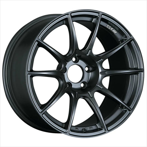 SSR GTX01 Flat Black Wheel 18x10.5 5x114.3 15mm