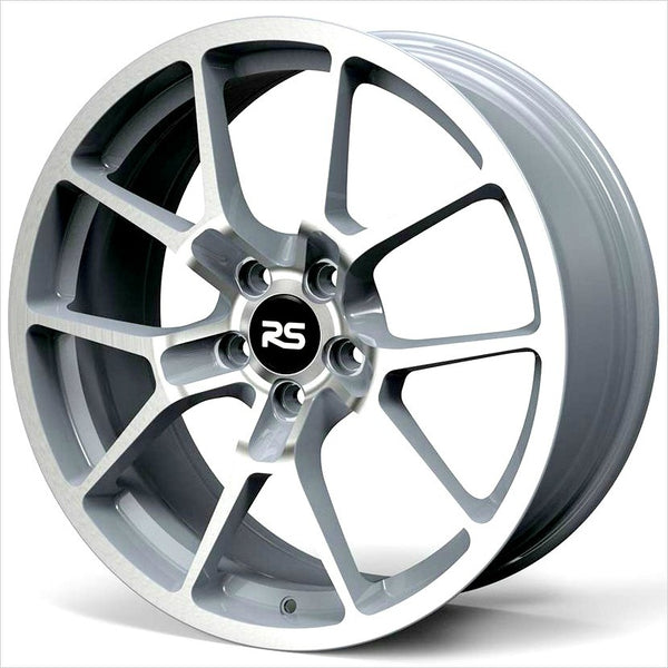 Neuspeed RSe10 Machined Silver Wheel 18x8 5x112 45mm