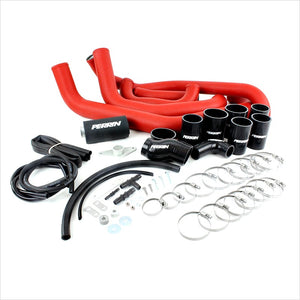 Perrin Front Mount Intercooler Piping Kit Red STI (2008-2014)