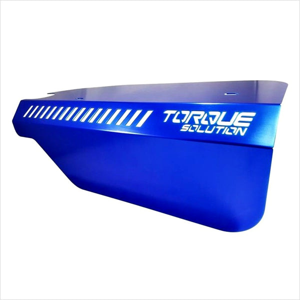 Torque Solution Engine Pulley Cover Blue WRX (2015-2020)