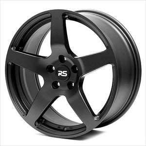 Neuspeed RSe52 Satin Black Wheel 18x8 5x112 45mm