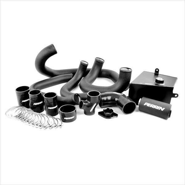 Perrin Front Mount Intercooler Piping Kit Black WRX (2015-2019)